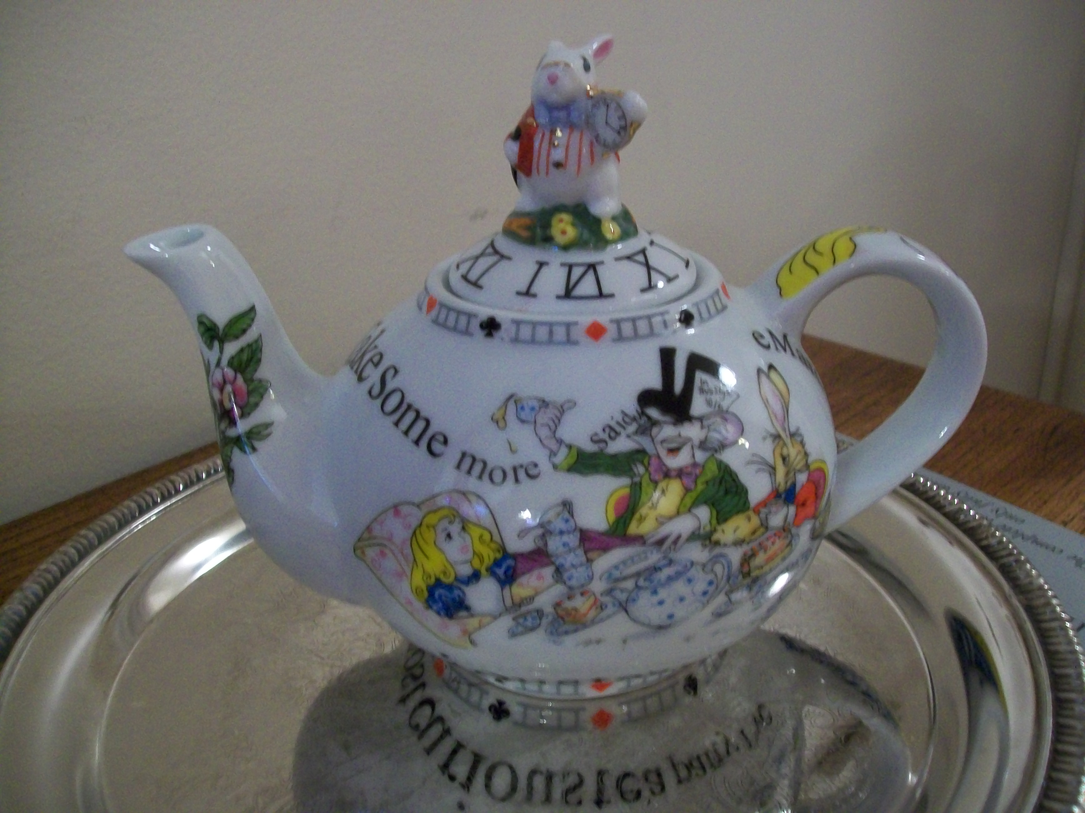 """Surprisingly, """"The Mad Tea Party"""" was added at a later date ..."""